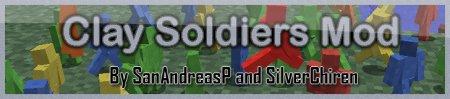 Скачать Clay Soldiers для minecraft 1.5.2 бесплатно