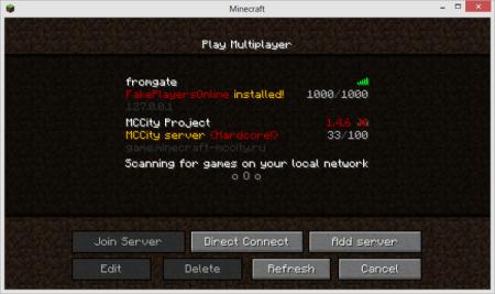 Скачать плагин FakePlayersOnline для minecraft 1.5.2