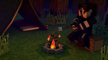 Скачать The Camping для minecraft 1.5.2 бесплатно