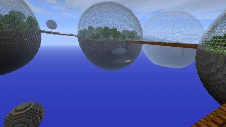 Скачать Biosphere для Minecraft 1.5.2 бесплатно