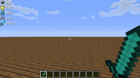 Скачать DamageDisplay для Minecraft 1.5.2