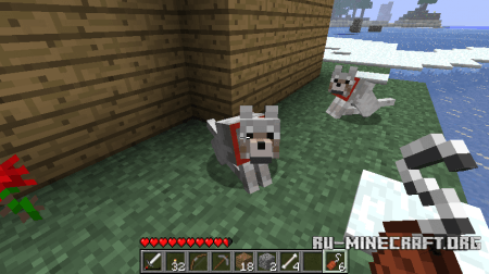 ������� Sophisticated Wolves ��� Minecraft 1.5.2 ���������