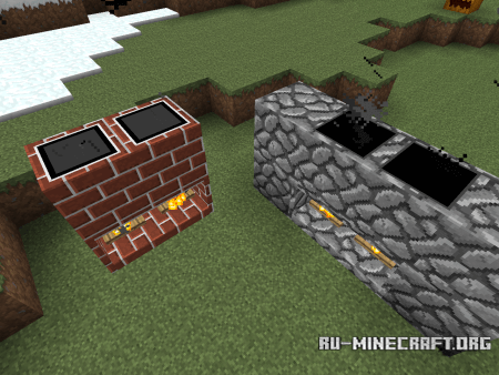 ������� FireplaceMod ��� Minecraft 1.5.2 ���������