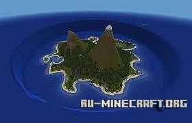Скачать Castaway The Lonely Island для Minecraft