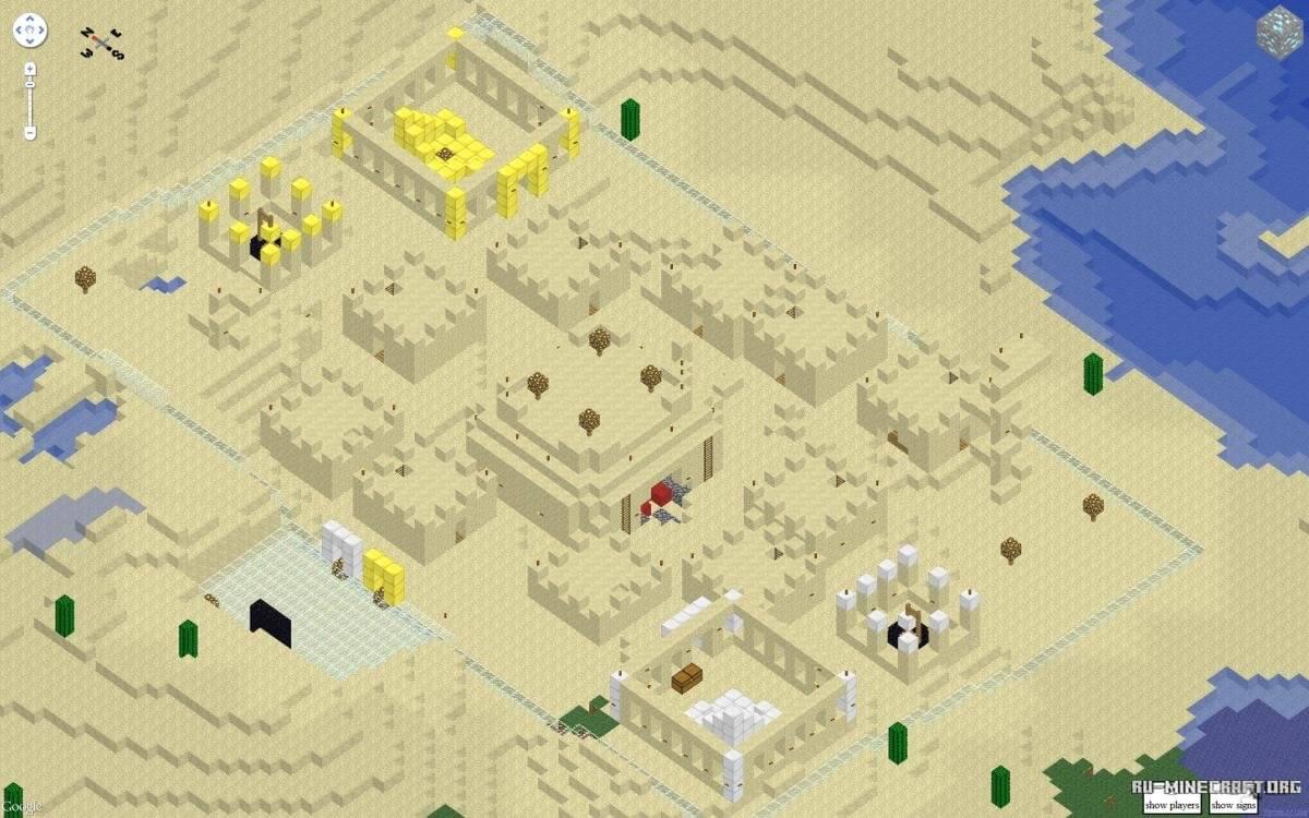 Карты для Minecraft, скачать различные карты для