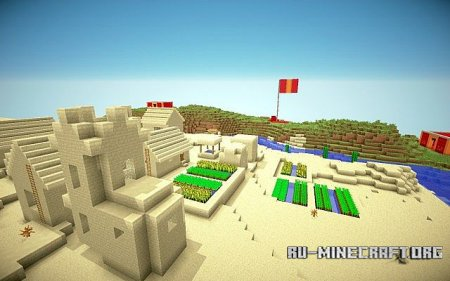 Скачать карту Capture The Flag для Minecraft
