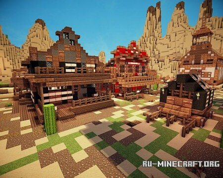 Скачать карту возвращение к херобрину для minecraft 1.6.1 - b