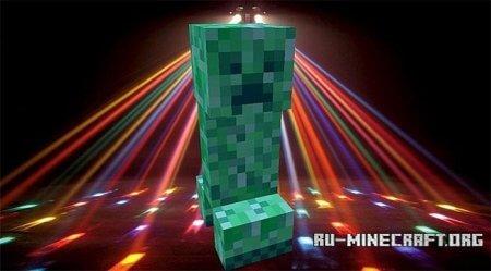 Скачать Disco Creeper для Minecraft 1.5.2 бесплатно