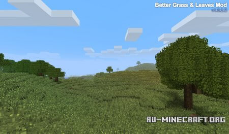Скачать мод BetterGrassAndLeaves для Minecraft 1.5.2