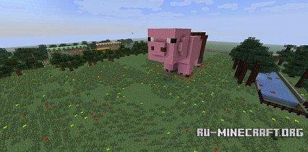 Скачать карту Piggy Race для Minecraft