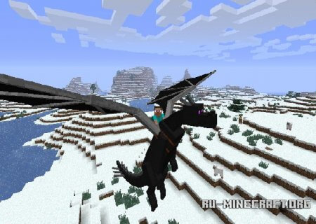 Скачать Dragon Mounts для Minecraft 1.5.2 бесплатно