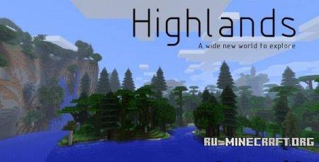 Скачать Highlands (36 новых биомов) для Minecraft 1.5.2