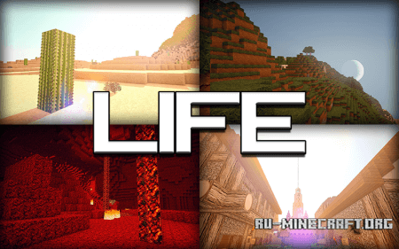 Скачать Life HD для Minecraft 1.5.2