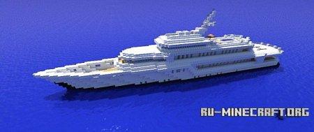 Скачать Mega Yacht 2 для Minecraft