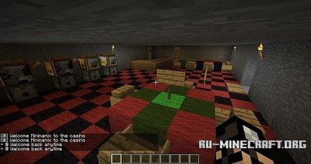 Скачать Casino map для Minecraft