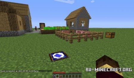 Скачать Travelling House Mod для Minecraft 1.5.1