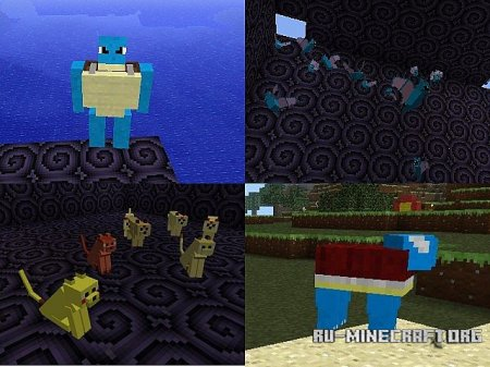 Скачать Pokemon Works для Minecraft 1.6.2