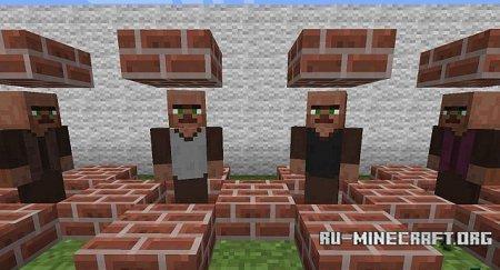 Скачать HumanVillagers для Minecraft 1.5.1