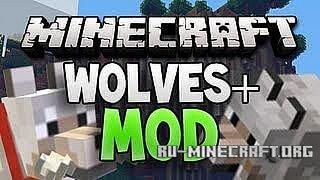 Скачать Wolves Mod для Minecraft 1.5.1