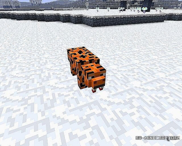 Скачать мод Glacia для Minecraft 1.6.2
