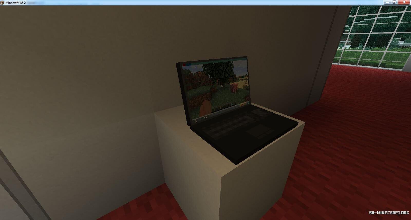 мод на компьютер в майнкрафт 1.7.10 #2