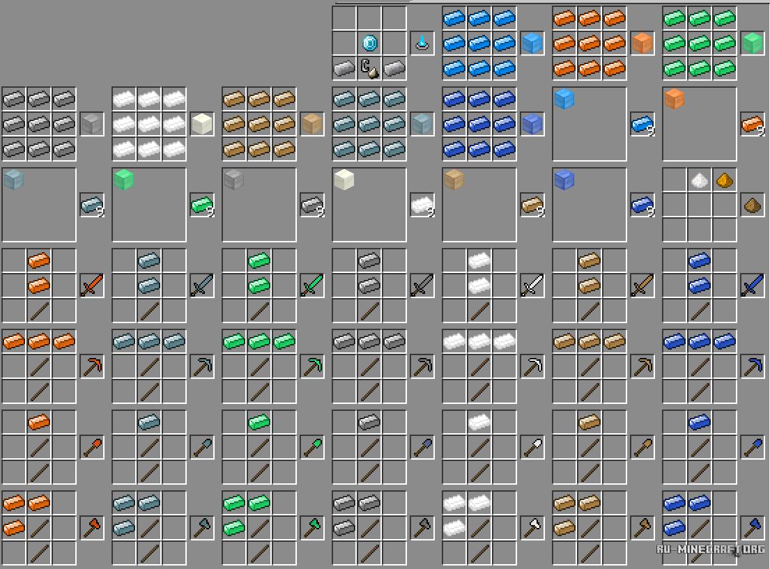 Картинки крафта в игре майнкрафт