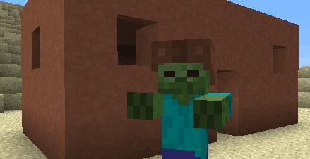 Дом из обожжённой глины Minecraft 1.6.2