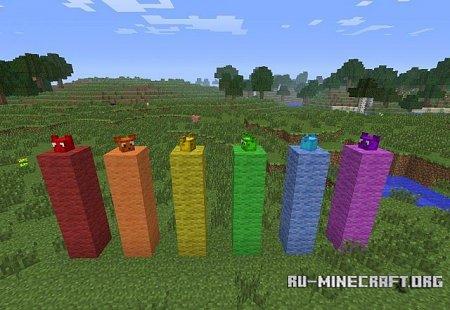 Скачать Ear Slimes Mod для Minecraft 1.5.1