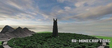 Скачать карту Isengard A lord of the Rings build для Minecraft