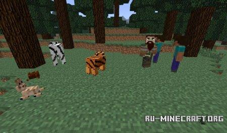 Скачать More Mobs Mod для Minecraft 1.5.1