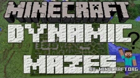 Скачать Dynamic Mazes Mod для Minecraft 1.5.1