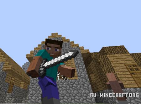 Скачать Animated Player для Minecraft 1.5.1