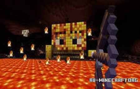 ������� ����� Blaze Boss Fight ��� Minecraft