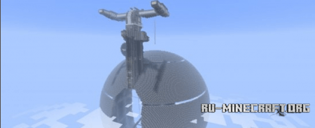 Скачать Star Wars Droid Control Ship для minecraft