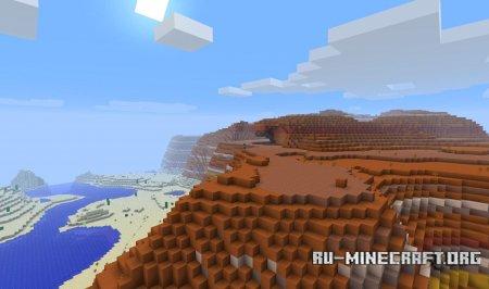 Биом Столовые горы в Minecraft