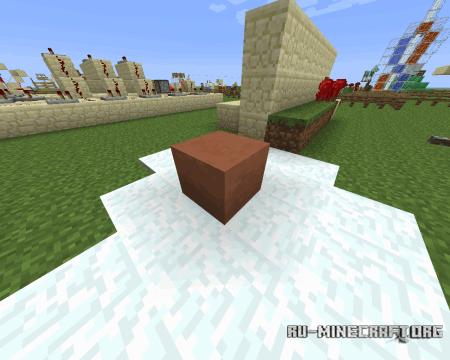Обожжённая глина в Minecraft 1.6.2