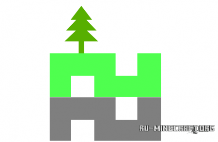 Скачать карту Extreme Chunk для Minecraft