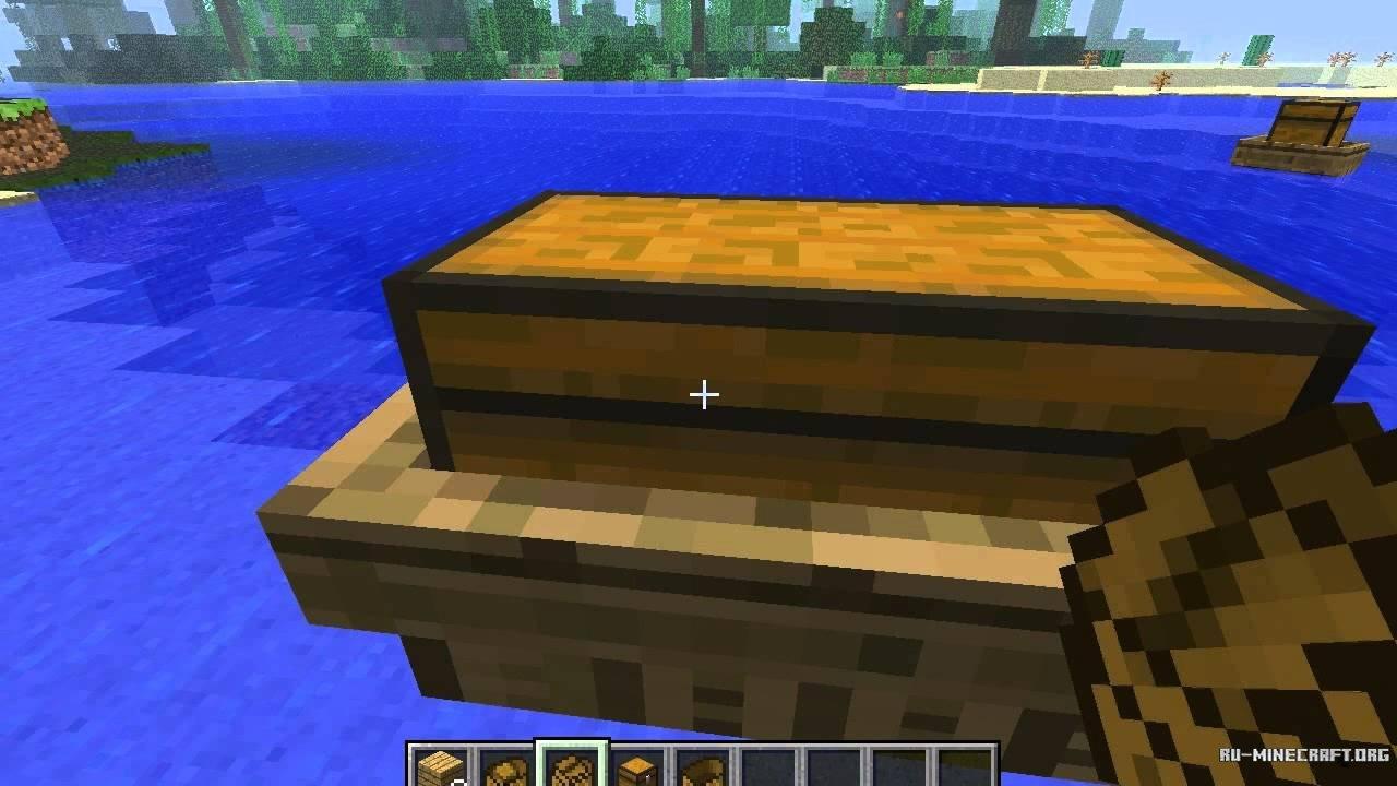 Крафт лодки в майне