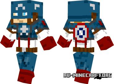 Скачать Captain America для minecraft
