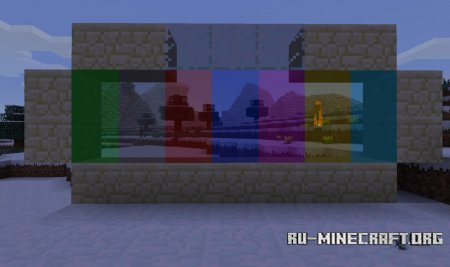 Скачать Colored Glass для Minecraft 1.6.2