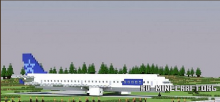 ������� 1:1 Airbus A330 ��� minecraft