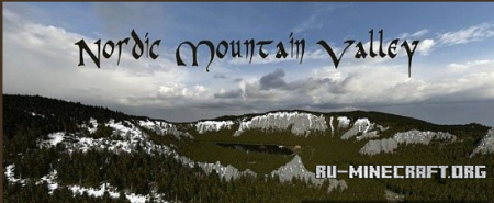Скачать Nordic Mountain Valley для minecraft