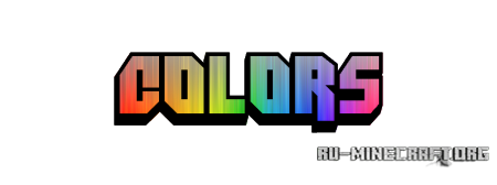 Скачать Colors! v1.4.0 для minecraft 1.6.2