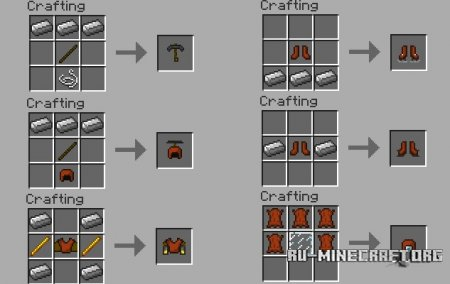 Скачать Armor Movement для Minecraft 1.6.4