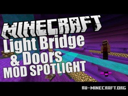 Скачать Light Bridges and Doors для Minecraft 1.6.4