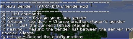 Скачать iPixeli's Female Gender Option для Minecraft 1.6.4