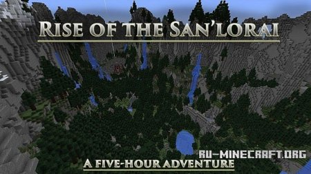 Скачать Rise of the San'lorai для Minecraft
