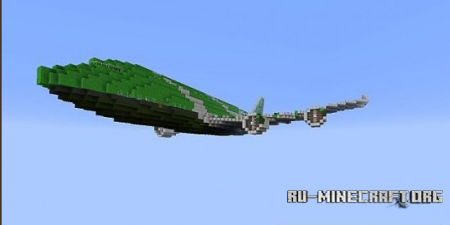Скачать Creeper Airways 747-1000 для minecraft