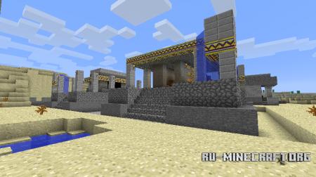 Скачать Millenaire Mod для Minecraft 1.6.4