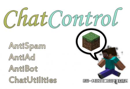 Скачать ChatControl v4.2.2 для minecraft 1.6.4